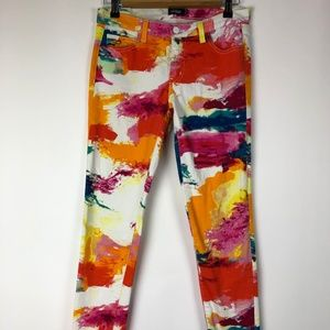 Kate Spade Saturday Jeans Skinny Abstract Size 26